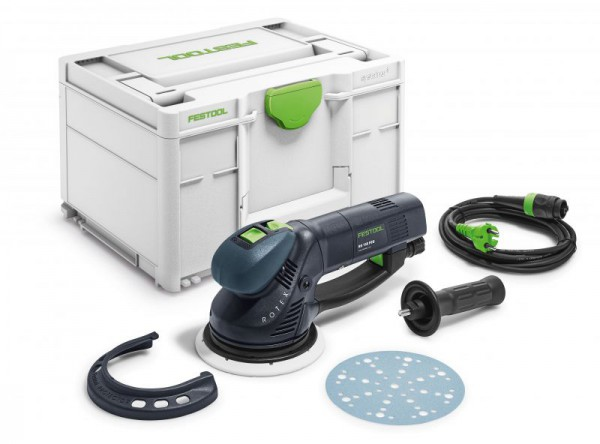 Festool 576021 110v RO150FEQ-plus Eccentric Rotex Sander With Systainer SYS3 M 237 Case