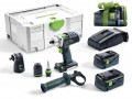 Festool 574699 18V Cordless Drill DRC 18/4 Li 5,2-Set GB 2 X 5.2ah, Angle Attachment + 5.2Ah Battery Worth £119.95! £625.95 Festool 574699 18v Cordless Drill Drc 18/4 Li 5,2-set Gb With 2 X 5.2ah Li-ion Batteries With Angle Attachment