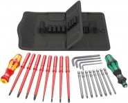 Wera 23pc Mixed Screwdriver & Hex Set With Bottle Opener £39.95