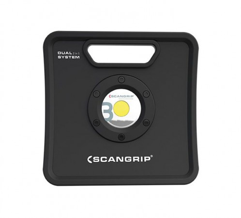 Scangrip Nova 3K Lumens C+R Mains & Rechargeable Work Light