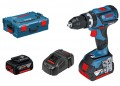Bosch GSB 18 V-60 C (2 x 5.0 Ah, GAL1880 CV, L-BOXX) DYNAMIC series BRUSHLESS [Connection ready] 18 V Combi £289.95 Bosch Gsb 18 V-60 C (2 X 5.0 Ah, Gal1880 Cv, L-boxx) Dynamic Series Brushless [connection Ready] 18 V Combi