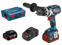 Bosch GSB 18 V-85 C (2 x 5.0 Ah, GAL 1880 CV, L-BOXX) ROBUST series BRUSHLESS [Connection ready] 18 V Combi was £425.95 £349.95