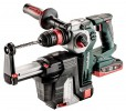 Metabo KHA 18 LTX BL 24 Quick Brushless SDS Hammer + ISA 18 LTX 24, 1 x 18V LiHD 3.5Ah, 1 x 18V LiHD 5.5Ah, ASC30-36V Ch £509.95 Metabo Kha 18 Ltx Bl 24 Quick Brushless Sds Hammer + Isa 18 Ltx 24, 1 X 18v Lihd 3.5ah, 1 X 18v Lihd 5.5ah, Asc30-36v Charger, Carry Case 