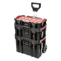 Trend MS/C/SET3C Modular Storage Compact Cart Set 3pc £109.95