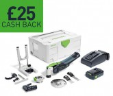 Festool 574852 Cordless oscillator OSC 18 Li 3,1 E-Set GB VECTURO £599.95