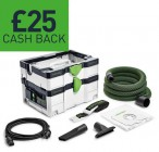 Festool 575284 CTL SYS GB 240V Mobile Dust Extractor CLEANTEC CTL SYS £319.95