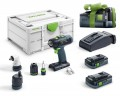 Festool  576456 18V Cordless Drill T 18+3 HPC 4.0 I-Set + 5.2Ah Battery Worth £119.95!   £589.00 Festool  576456 18v Cordless Drill T 18+3 Hpc 4.0 I-set