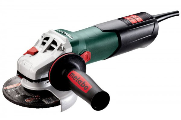 "Metabo WEV 11-125 Quick 240V 1,100W 5"" 125mm  Angle Grinder With Variable Speed & Soft Start"