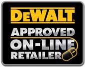 A large range of DeWalt products are available from D&M Tools